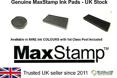 Maxstamp Ink Pads - Genuine Replacement Stamp Pad For Max Stamp - Maxum