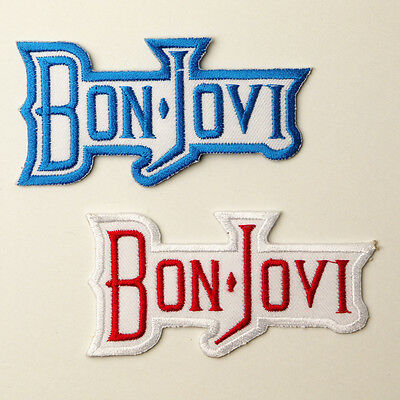 BON JOVI - Patch Series - Embroidered Iron-On Patches - UK - FREE POST