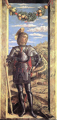 St George  Artist Painting Reproduction Handmade Oil Canvas Repro Wall Art Deco