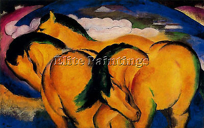 Franz Marc Iuyty Artist Painting Reproduction Handmade Oil Canvas Repro Art Deco