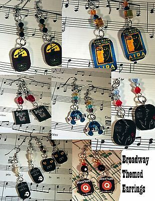Broadway Earrings ( Lots of Shows )