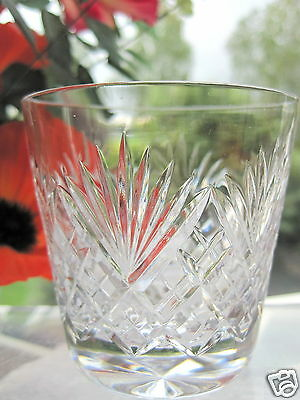 "Royal Doulton Juno Whisky Tumbler 3"" 5 oz Old Fashioned Whisky Glass x 1 Signed"