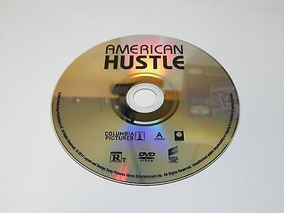 New American Hustle DVD 2014 Bradley Cooper Christian Bale | NO BLU-RAY COPY