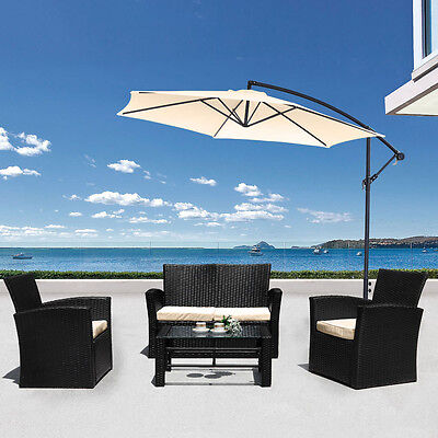 Luxury Rattan Outdoor Garden Furniture Sofa Set - Table, Patio, Conservatory