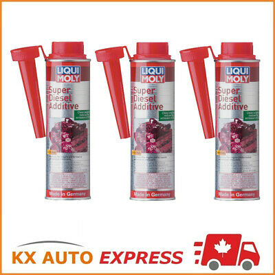 3x Liqui Moly Super Diesel Additive Engine & Injector Cleaner 300ml LiquiMoly