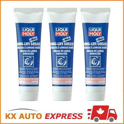 3x Liqui Moly Long-Life Grease + MoS2 100g LiquiMoly 2003