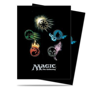 Magic 80 Mana Symbols Deck Protector Sleeves MTG Magic the Gathering