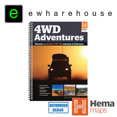 Hema Maps 4Wd Adventures The Ultimate Guid For 4Wd Trips In Australia