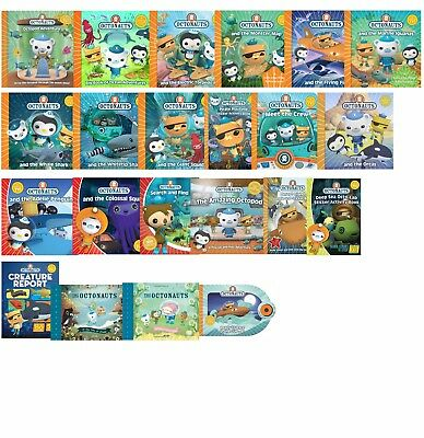 Octonauts Series 24 Book Collection Set Pack Illustrated Pictures Early Learners