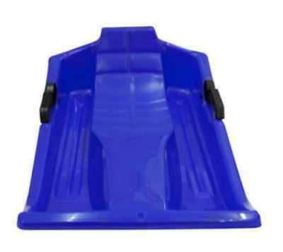 Blue Snow Sledge, Sleigh with Steering Brake levers