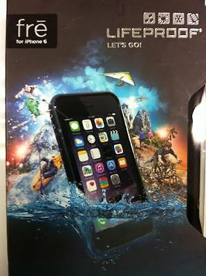 Authentic Lifeproof Fre Case For Apple iPhone 6 Waterproof 4.7 BlacK In Retail