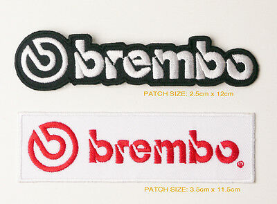 BREMBO Sponsorship Patch Set of TWO Patches - FREE POST