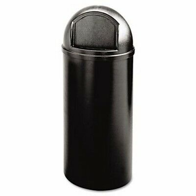 Rubbermaid 816088 Marshal Classic 15 Gallon Trash Container, Black (RCP816088BK)