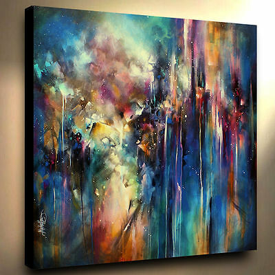 "36"" Large Abstract Art Giclee canvas print PAINTING Contemporary DECOR Mix Lang"