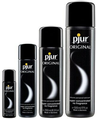 Pjur Lubricant Original Silicone Lube Concentrated 30/100/250/500ml