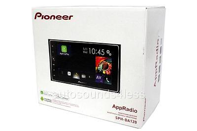 "Pioneer AppRADIO 4 SPH-DA120 Double 2 DIN Multimedia Player 6.2"" LCD Bluetooth"