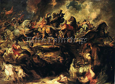 Battle Of The Amazons  Artist Painting Reproduction Handmade Oil Canvas Repro