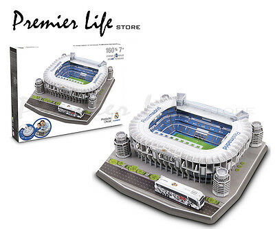 Real Madrid F.C. Santiago Bernabeu Stadium 3D Puzzle- 160 pieces
