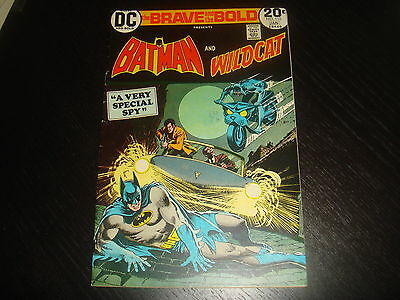 BRAVE AND THE BOLD #110  Batman Wildcat  DC Comics 1974 FN+
