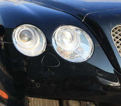 Bentley Continental Gt And Gtc Chrome Headlight Trims
