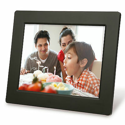 Motorola 8 Inch Digital Photo Frame MF801 - Black