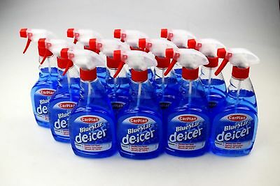 12 X 500ml De Icer Trigger spray DEICER Works down to -15 Carplan de-icer 12pk