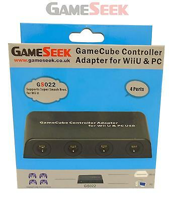 Gameseek Mayflash Gamecube Controller Adapter For Wii U And Pc - Brand New