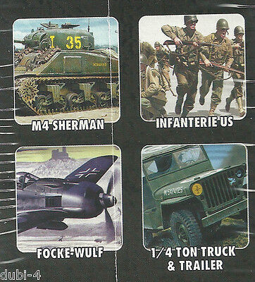 Heller 53008 D-DAY 4 Modelle inkl. Farbe - Exclusive SET - 1:72