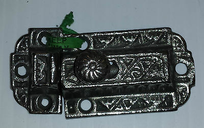 Cast Iron Victorian Style Cabinet Latch Set (#2)