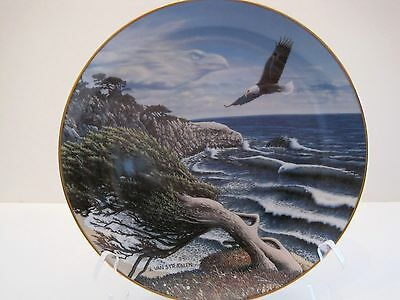 """""""Eagle Cove"""" From The Spirits of the Wild Plate Collection"""