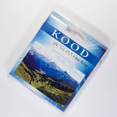 Kood Super Slim 52Mm Uv Filter Ultra Violet For Slr Dslr Cameras Ultraviolet