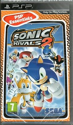 SONIC THE HEDGEHOG: RIVALS 2 PSP GAME ~ NEW / SEALED