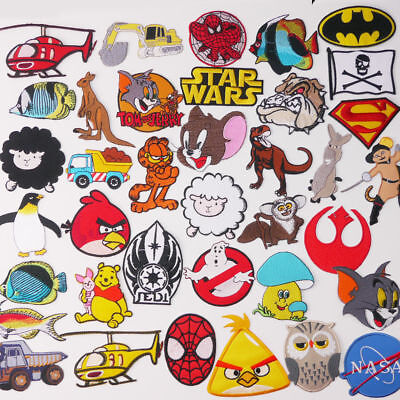 KIDS £1.20 PATCH COLLECTION - Cartoon, Toys & Animals, UK Seller, 80p Post