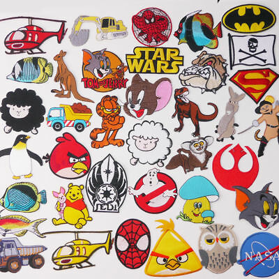 KIDS £1.45 PATCH COLLECTION - Cartoon, Toys & Animals, UK Seller, 80p Post