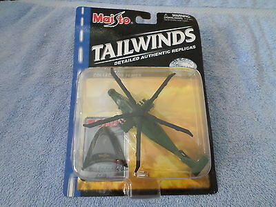 2001 MAISTO TAILWINDS RAH-66 COMANCHE DIE CAST METAL HELICOPTER - NIP