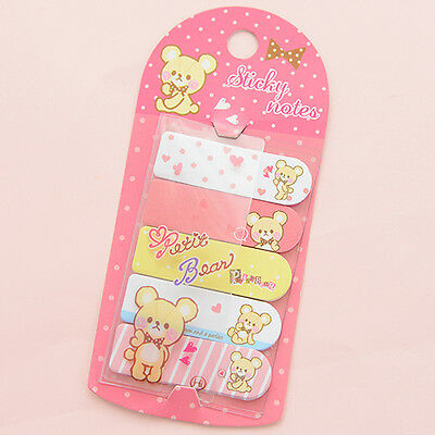 Funny Cute Animal Sticker Post It Bookmark Point Marker Memo Flags Sticky Notes