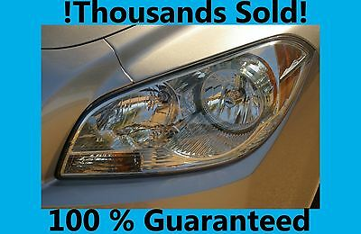 Headlight restoration kit wipe new fast brite Detail Doctor bmw ford chevrolet