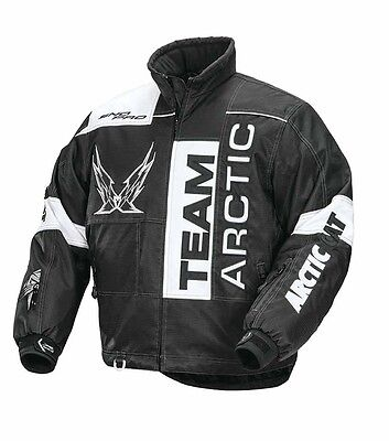Arctic Cat Throttle Jacket Black - L - MENS - #5250-254 FREE SHIP