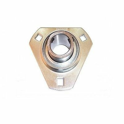 SBPFT205 SLFT25 25mm Pressed Steel 3 Bolt Triangle Flange Bearing SBPFT SLFT