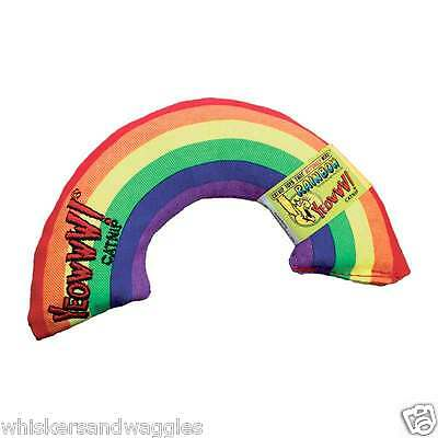 "Yeowww! Organic Catnip 6"" Rainbow Toy - Made in the USA"