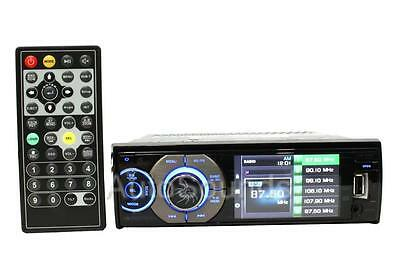 """Soundstream VR-345B DVD/CD/MP3 Player 3.4"""" Color LCD Screen Bluetooth Front USB"""