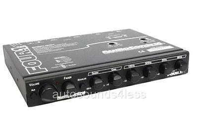 AudioControl FOUR.1i In-Dash 5 Band Equalizer Pre Amp Line Driver Aux Input New