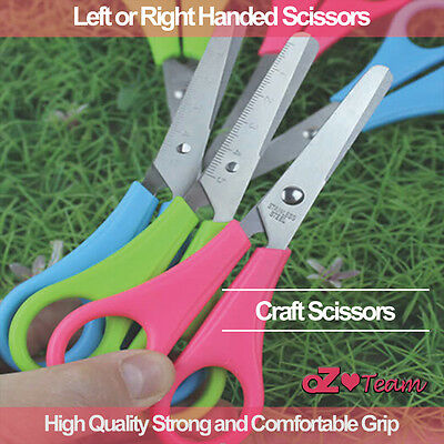 Left or Right Handed Scissors Office Craft Craft Scrap Stainless steel Kids Grip