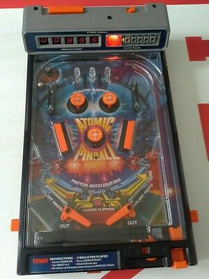 Atomic pinball 1979 tomy Read no battery compartment holder