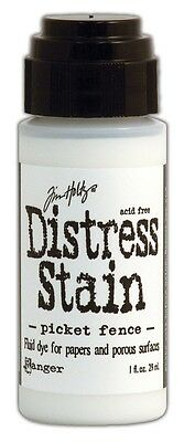 Distress Stain Dabber Picket Fence weiss 29ml Stempelfarbe Tusche 31246