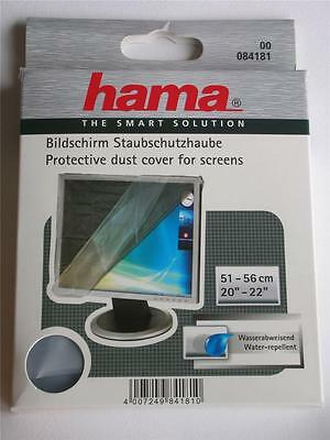 "Hama Wide Screen Monitor Tv Dust Cover 20""-22"" 51-56Cm Translucent 84181"