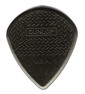 12 x Jim Dunlop Jazz III Max Grip Guitar Picks Plectrums - Black Carbon Fibre