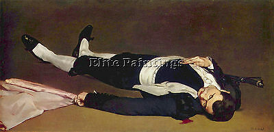 Dead Torero By Manet Artist Painting Reproduction Handmade Oil Canvas Repro Deco