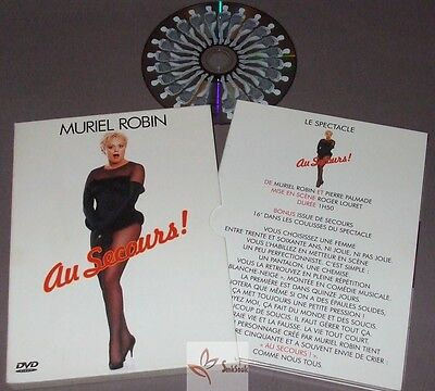 Muriel Robin - DVD Digipack - Au Secours / Spectacle