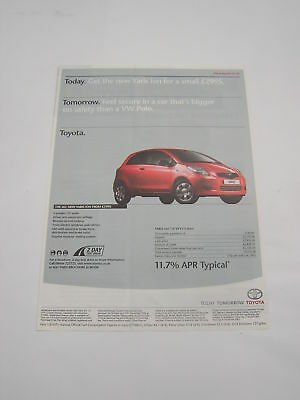 Toyota Yaris Ion Advert from 2006 - Original Advertisement